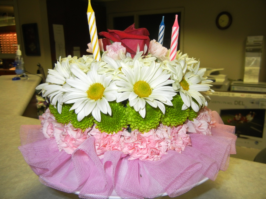 Birthday Cake Images And Flowers : Youth Gardening Focus group In the Garden with Janet Carson