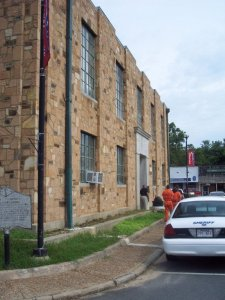 van buren co courthouse east.before