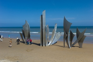 normandy beaches.clay08