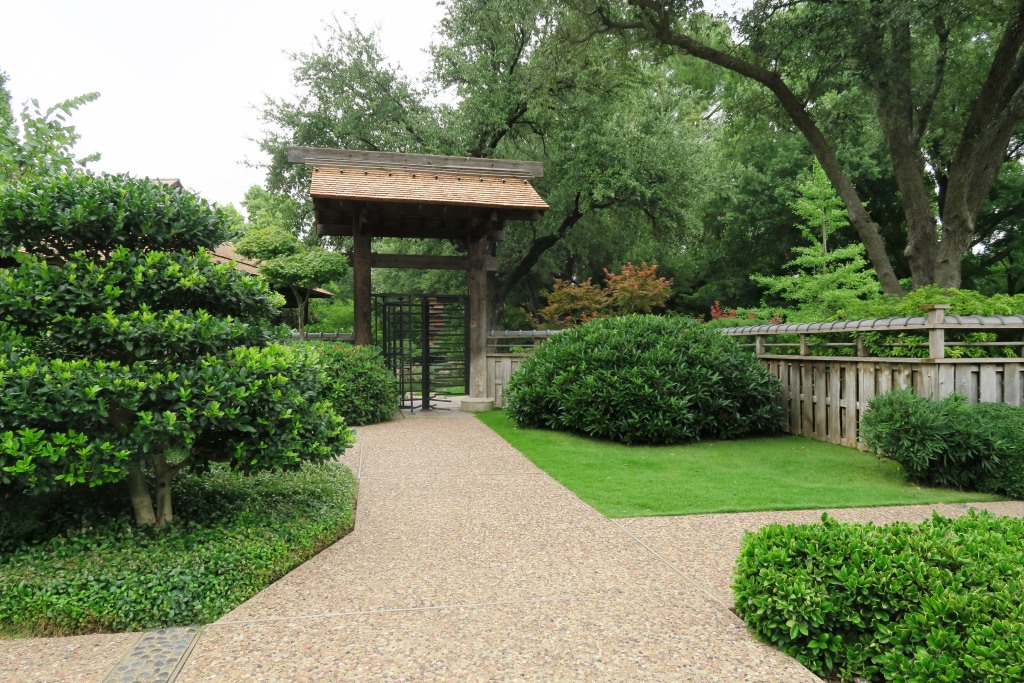 Ft worth botanical garden en route to austin in the garden with arkansas extension horticulture for Fort worth botanical gardens hours