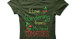 gardening tshirt.