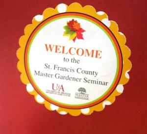 St. Francis county mg seminar.1509